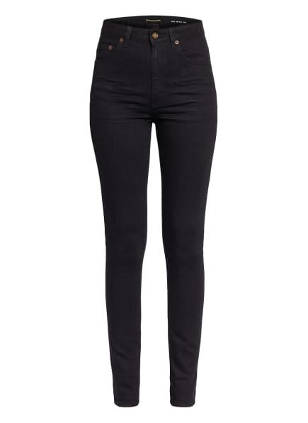 SAINT LAURENT Skinny Jeans, Farbe: 1220 WORN BLACK (Bild 1)