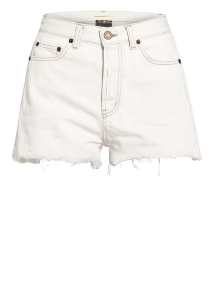 SAINT LAURENT Jeans-Shorts, Farbe: 9029 GREY OFF WHITE (Bild 1)