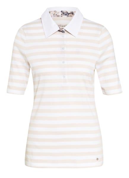 efixelle Jersey-Poloshirt, Farbe: CREME/ ECRU (Bild 1)