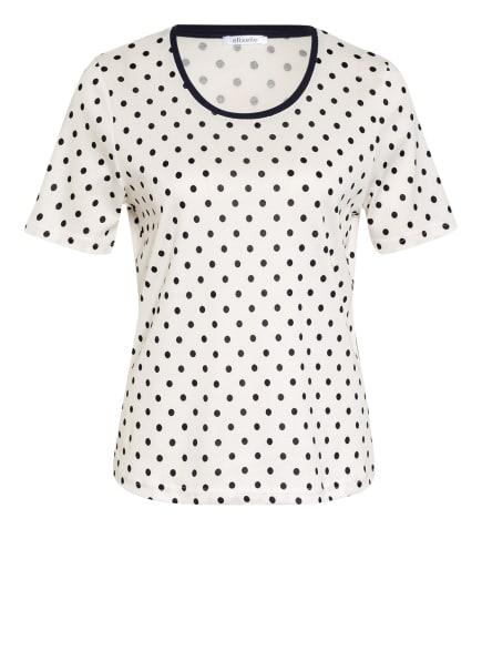 efixelle T-Shirt, Farbe: WEISS/ DUNKELBLAU (Bild 1)