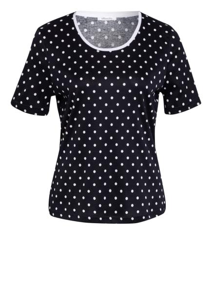 efixelle T-Shirt, Farbe: DUNKELBLAU/ WEISS (Bild 1)