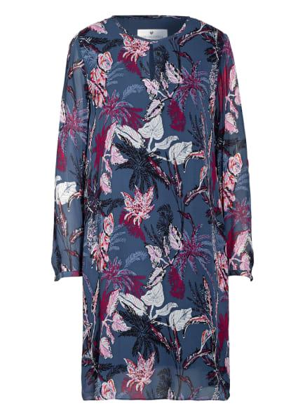LIEBLINGSSTÜCK Kleid ROSALYNL, Farbe: DUNKELBLAU/ FUCHSIA/ WEISS (Bild 1)