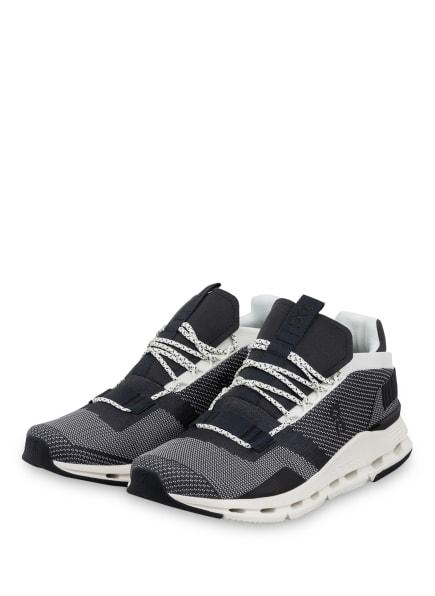 On Running Sneaker CLOUDNOVA, Farbe: SCHWARZ/ WEISS (Bild 1)