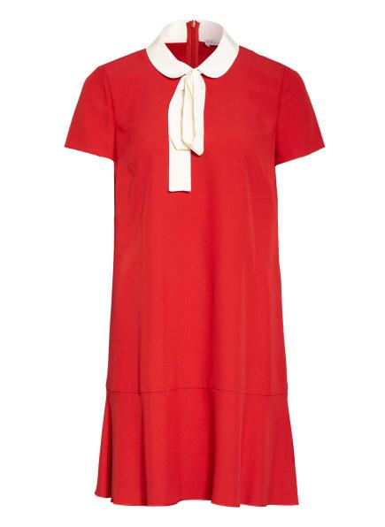 RED VALENTINO Kleid mit abnehmbarer Schluppe, Farbe: ROT/ ECRU (Bild 1)