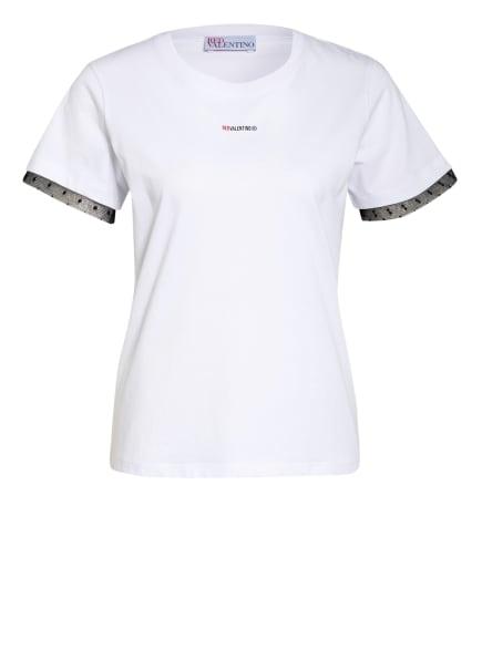 RED VALENTINO T-Shirt, Farbe: WEISS/ SCHWARZ (Bild 1)
