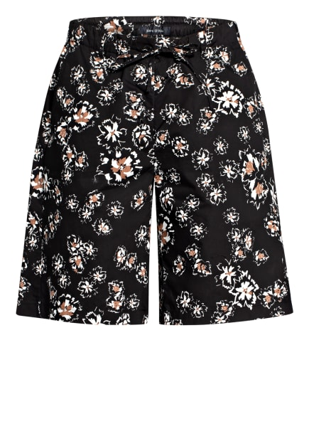 Marc O'Polo Shorts, Farbe: SCHWARZ/ WEISS/ BRAUN (Bild 1)