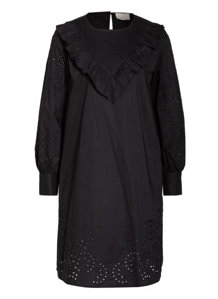 Mrs & HUGS Kleid mit Lochspitze, Farbe: SCHWARZ (Bild 1)