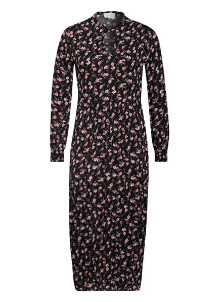 NEO NOIR Kleid ANKIE, Farbe: SCHWARZ/ ROSA (Bild 1)