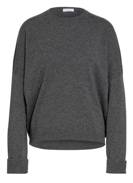 BRUNELLO CUCINELLI Cashmere-Pullover, Farbe: GRAU (Bild 1)