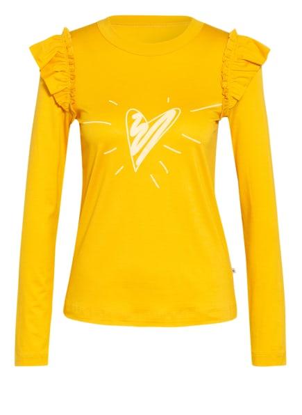 CALIDA Lounge-Shirt, Farbe: DUNKELGELB (Bild 1)