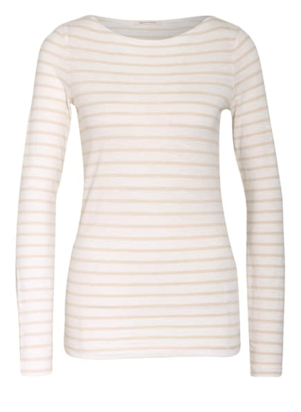 Marc O'Polo Longsleeve , Farbe: WEISS/ CREME (Bild 1)
