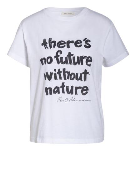 Marc O'Polo T-Shirt , Farbe: WEISS/ SCHWARZ (Bild 1)
