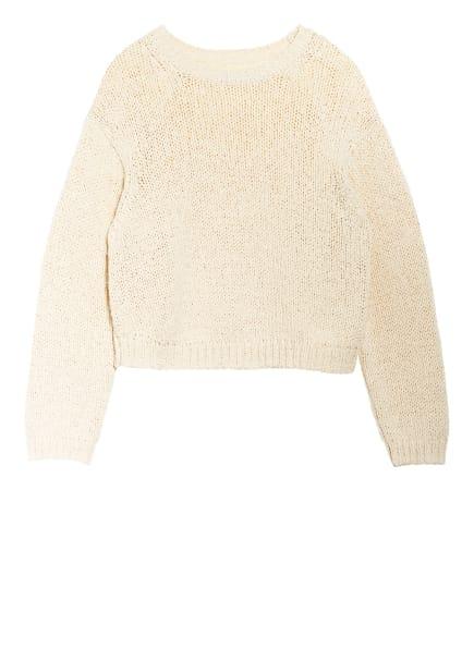Marc O'Polo Cropped-Pullover, Farbe: CREME (Bild 1)