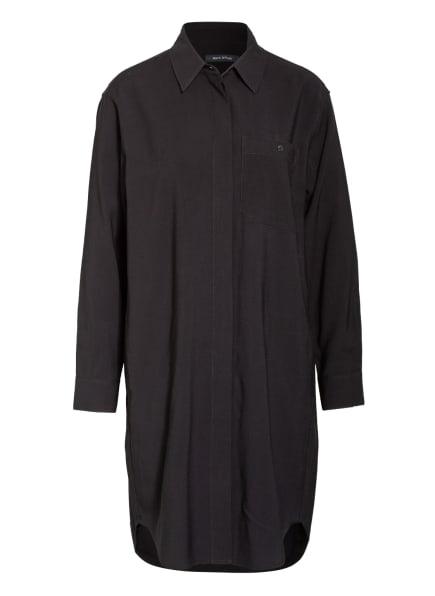 Marc O'Polo Hemdblusenkleid , Farbe: SCHWARZ (Bild 1)