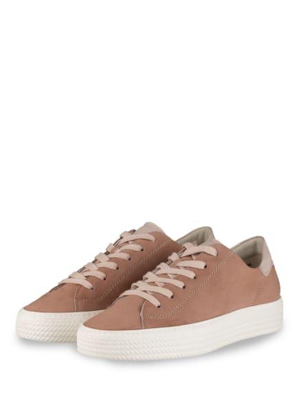 paul green Plateau-Sneaker, Farbe: ROSÉ (Bild 1)