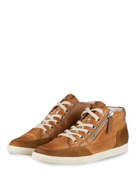 paul green Hightop-Sneaker, Farbe: HELLBRAUN (Bild 1)