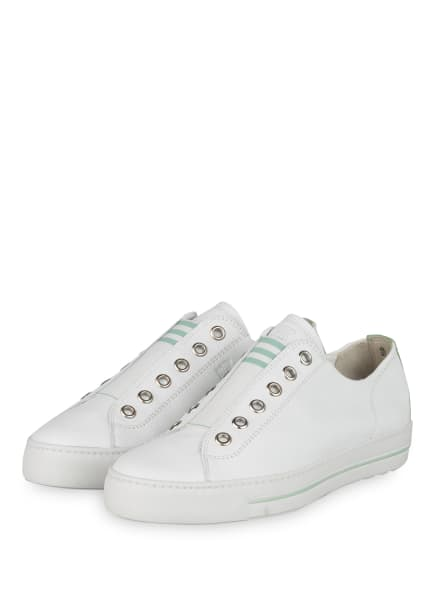 paul green Slip-on-Sneaker, Farbe: WEISS (Bild 1)