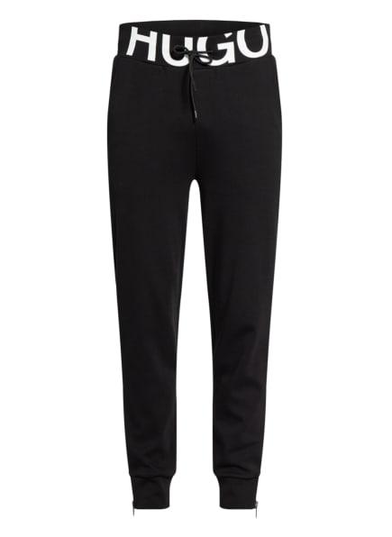 HUGO Sweatpants DUROS, Farbe: SCHWARZ/ WEISS (Bild 1)
