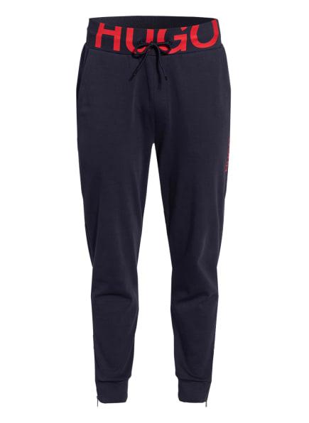 HUGO Sweatpants DUROS, Farbe: DUNKELBLAU/ ROT (Bild 1)