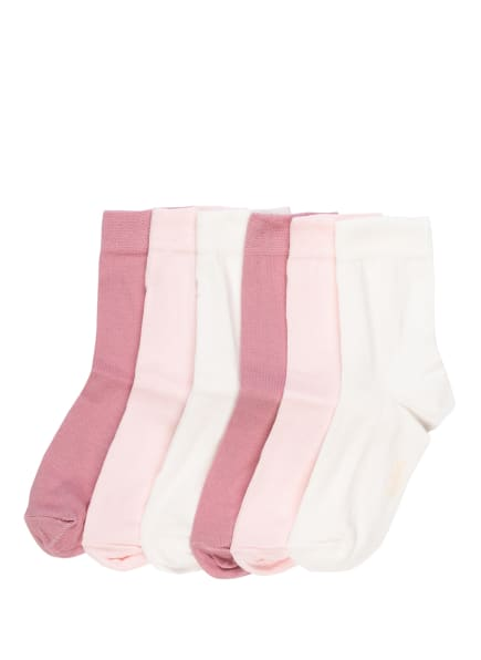 ewers COLLECTION 6er-Pack Strümpfe , Farbe: 40 40 latte - rosé - wildrose (Bild 1)