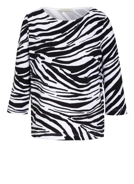 lilienfels Shirt mit 3/4-Arm, Farbe: SCHWARZ/ WEISS (Bild 1)