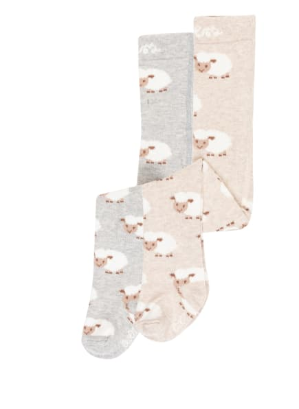 ewers COLLECTION 2er-Pack Strumpfhose , Farbe: 1 1 latte - grau (Bild 1)