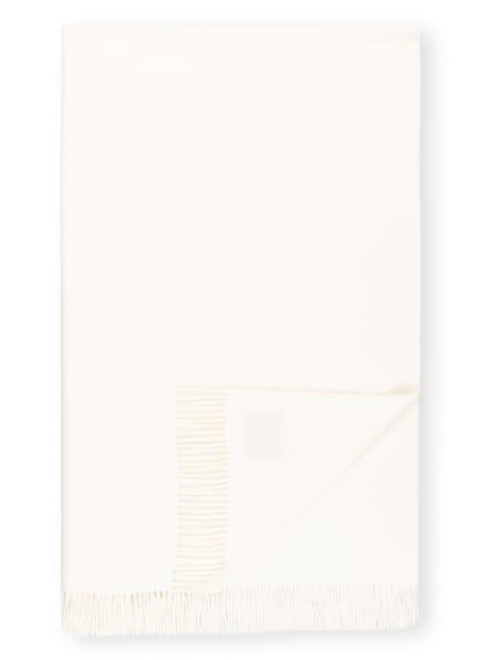 STEINBECK Plaid REGENT, Farbe: CREME (Bild 1)