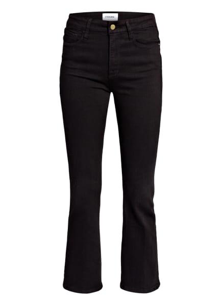 FRAME DENIM 7/8-Jeans LE CROP MINI BOOT, Farbe: FLMN FILM NOIR (Bild 1)