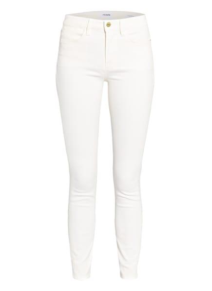 FRAME DENIM Skinny Jeans LE HIGH SKINNY, Farbe: OFFW Off White (Bild 1)