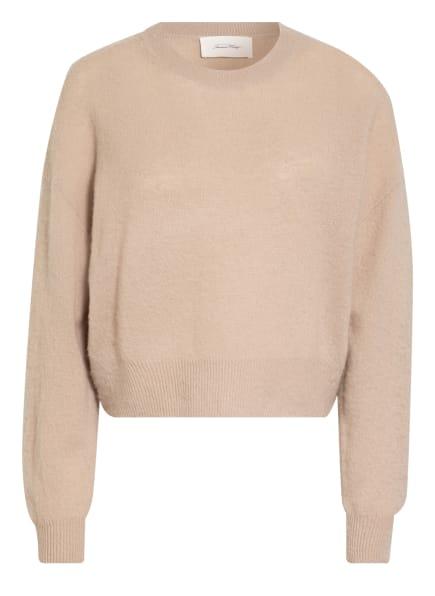 American Vintage Cashmere-Pullover, Farbe: BEIGE (Bild 1)