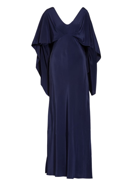DIANE VON FURSTENBERG Abendkleid ALBERTA aus Seide, Farbe: DUNKELBLAU (Bild 1)