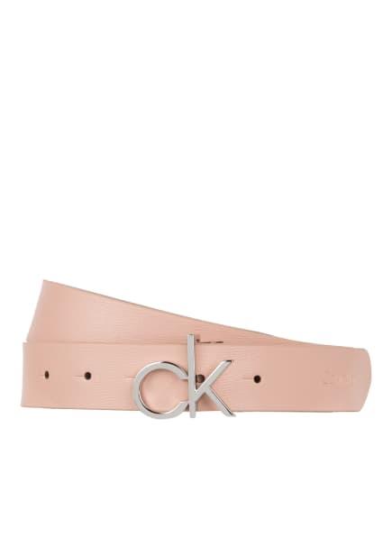 Calvin Klein Ledergürtel, Farbe: ROSÉ (Bild 1)