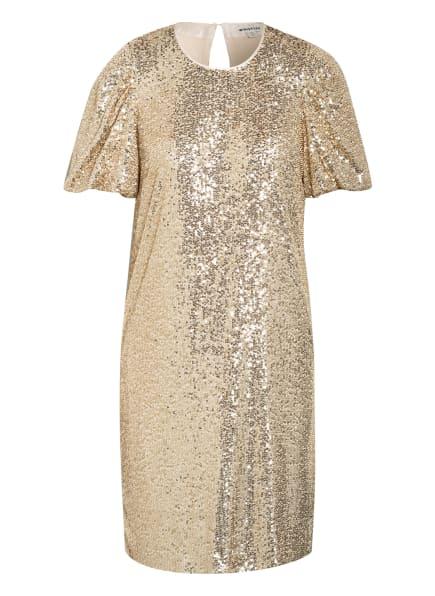 WHISTLES Wickelkleid mit Paillettenbesatz, Farbe: GOLD (Bild 1)