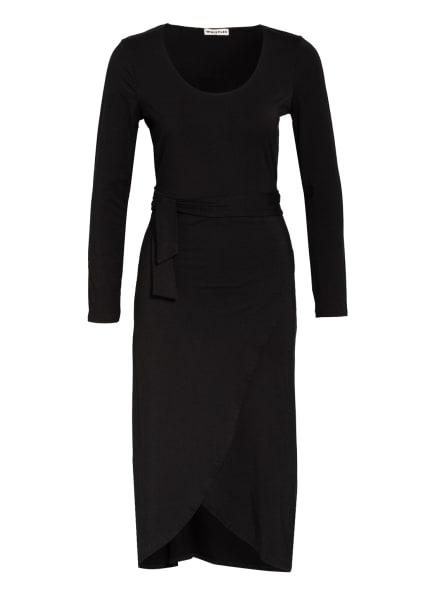 WHISTLES Jerseykleid in Wickeloptik, Farbe: SCHWARZ (Bild 1)