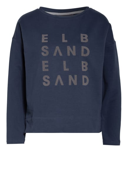 ELBSAND Sweatshirt ALRUN, Farbe: DUNKELBLAU/ GRAU (Bild 1)