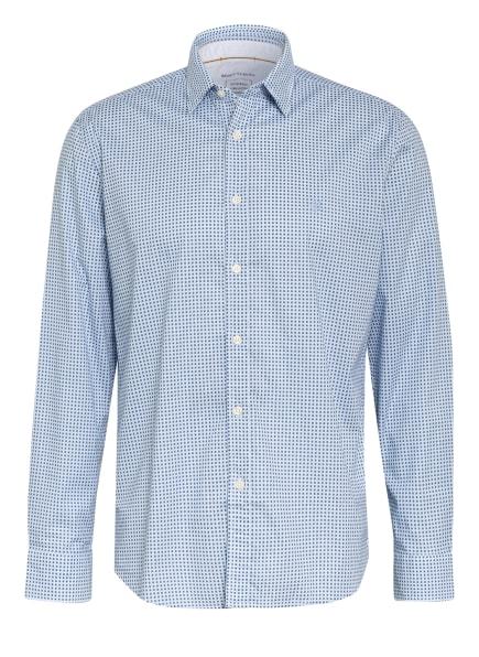 Marc O'Polo Hemd Regular Fit, Farbe: DUNKELBLAU/ BLAU/ WEISS (Bild 1)
