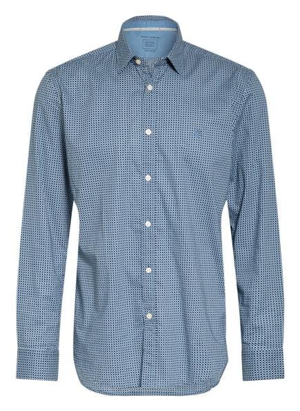 Marc O'Polo Hemd Regular Fit, Farbe: DUNKELBLAU/ HELLBLAU/ WEISS (Bild 1)