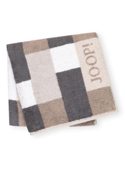 JOOP! Handtuch INFINITY , Farbe: GRAU/ WEISS/ CREME (Bild 1)
