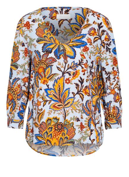 rich&royal Blusenshirt, Farbe: HELLBLAU/ DUNKELBLAU/ HELLORANGE (Bild 1)