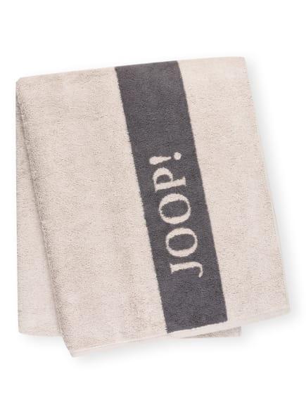 JOOP! Saunatuch INFINITY, Farbe: CREME/ GRAU (Bild 1)