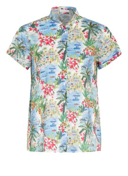 ROBERT FRIEDMAN Bluse, Farbe: HELLBLAU/ WEISS/ GRÜN (Bild 1)