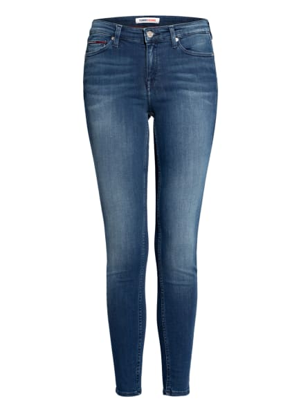 TOMMY JEANS Skinny Jeans NORA, Farbe: 1A5 New Niceville Mid Blue Stretch (Bild 1)