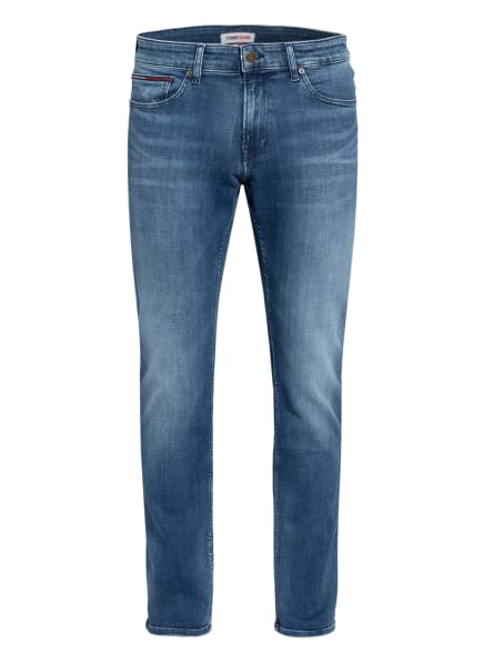 TOMMY JEANS Jeans SCANTON Slim Fit, Farbe: 1A5 Dynamic Jacob Mid Blue Stretch (Bild 1)
