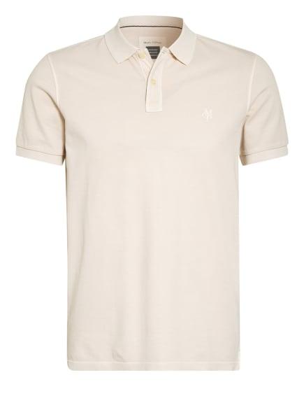 Marc O'Polo Piqué-Poloshirt, Farbe: CREME (Bild 1)