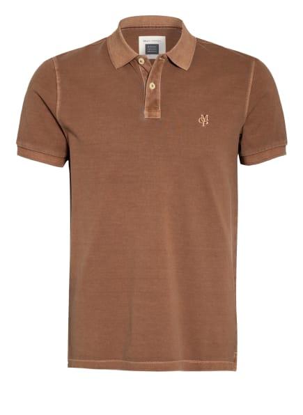 Marc O'Polo Piqué-Poloshirt, Farbe: BRAUN (Bild 1)