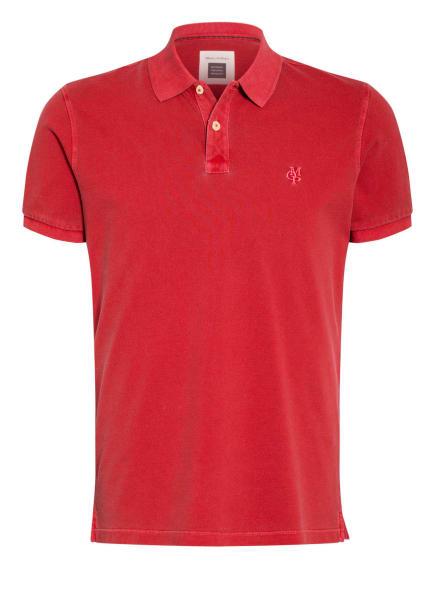 Marc O'Polo Piqué-Poloshirt, Farbe: ROT (Bild 1)