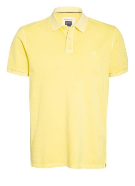 Marc O'Polo Piqué-Poloshirt, Farbe: GELB (Bild 1)