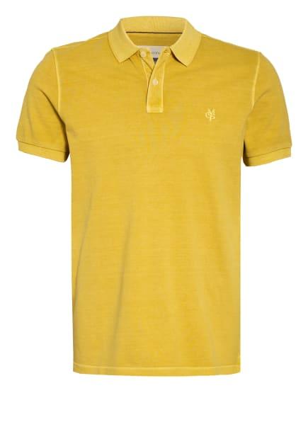Marc O'Polo Piqué-Poloshirt, Farbe: DUNKELGELB (Bild 1)