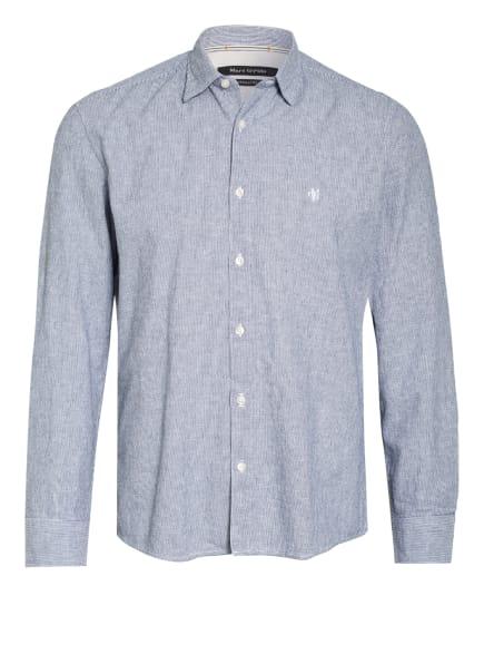 Marc O'Polo Hemd Regular Fit, Farbe: DUNKELBLAU/ WEISS (Bild 1)