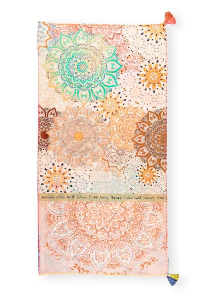 CODELLO Tuch , Farbe: BEIGE/ MINT/ WEISS (Bild 1)